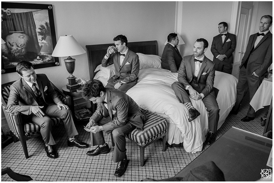 YD Mark Hopkins Intercontinental Hotel Wedding