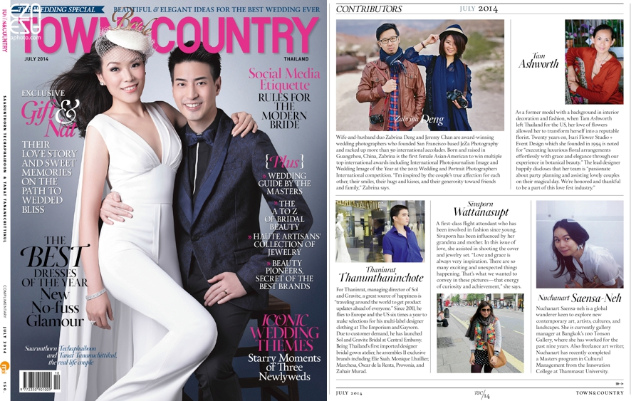 Wedding for Town & Country Thailand