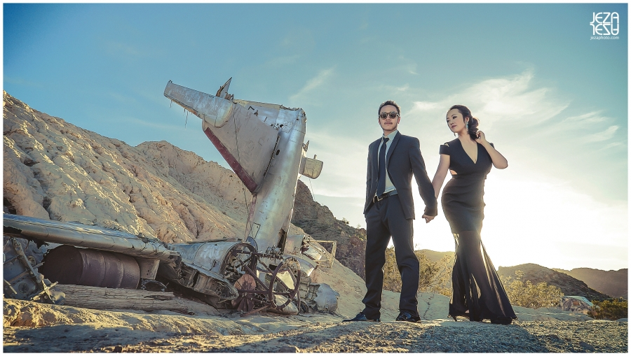 Las Vegas Nelson Ghost Town Wedding pre wedding session